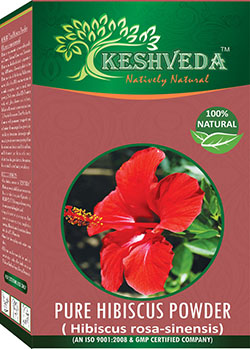 Keshveda Pure Hibiscus Powder Asmi International Pvt Ltd